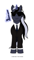 Agent Chrome Thunder by lonewolf3878