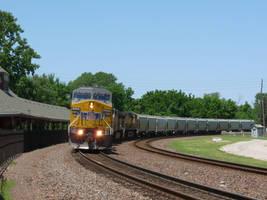 Railfan Trip: 7-8-17: Don Ball Curve by lonewolf3878