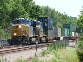 Railfan Trip: 7-8-17: A Change of Color by lonewolf3878