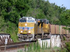 Railfan Trip: 7-8-17: Trouble on the Line by lonewolf3878