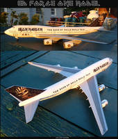 Ed Force One Model: 1:144 Scale by lonewolf3878