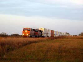 Railfan Trip: 10-19-17: Across the Field by lonewolf3878