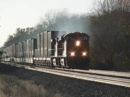 Post Con Railfanning: 10-29-17: Smokin' by lonewolf3878