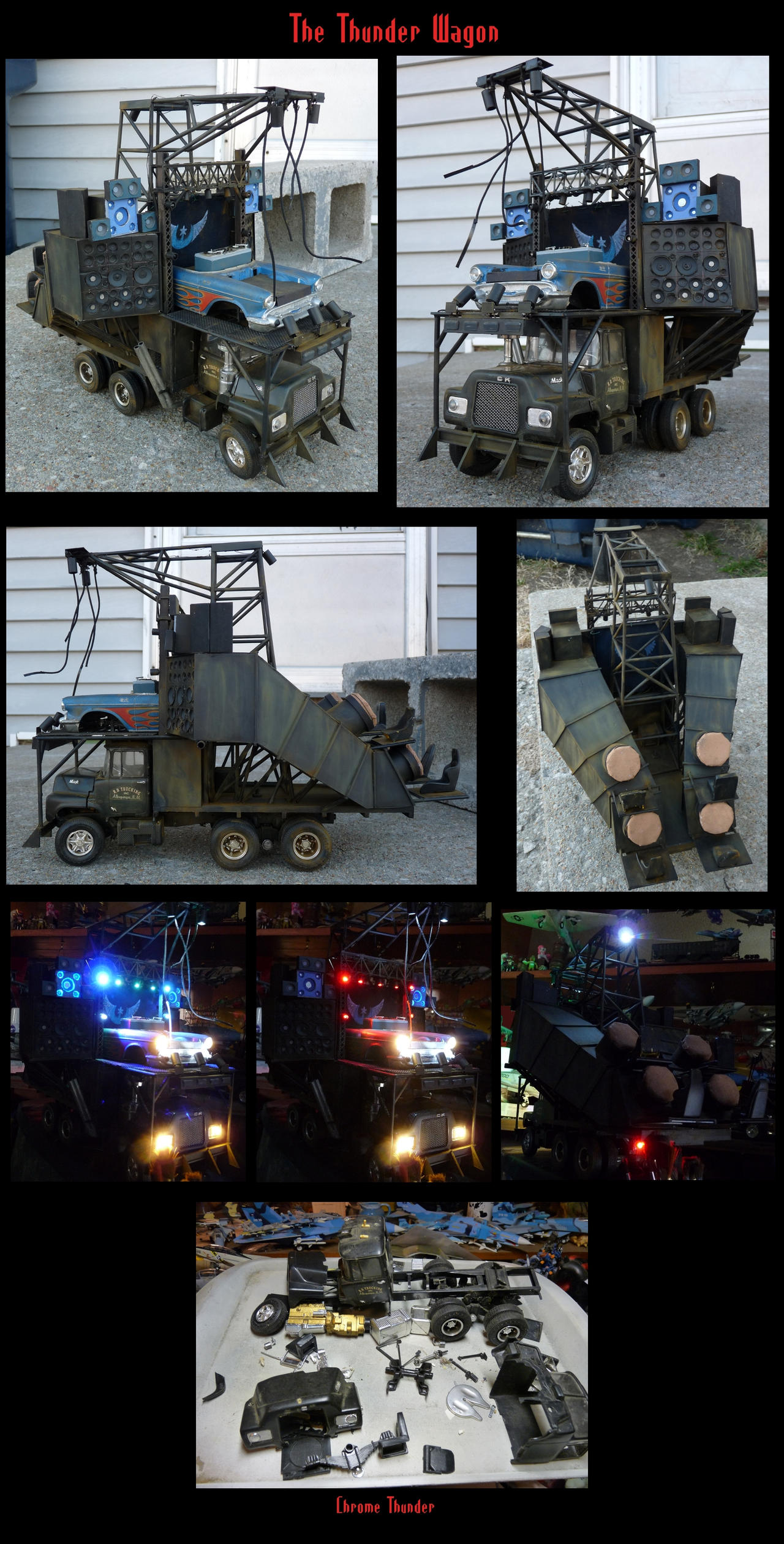 The Thunder Wagon: 1:25 Scale by lonewolf3878