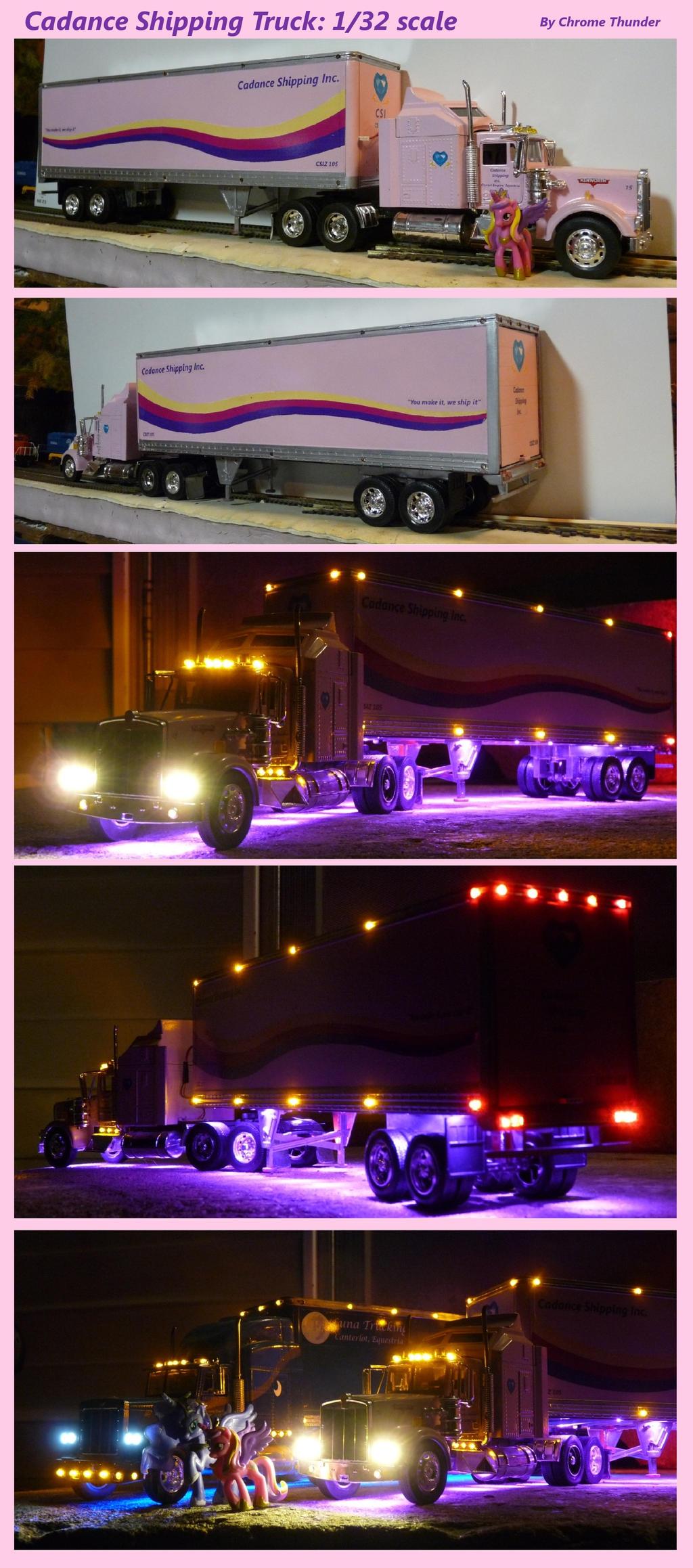 Cadance Trucking Semi Model: 1/32 Scale