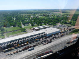 Railfan Trip - 5-26-18: Bird's Eye View by lonewolf3878