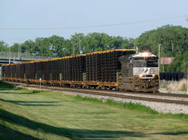 Railfan Trip: 6-28-18: Frame Load by lonewolf3878