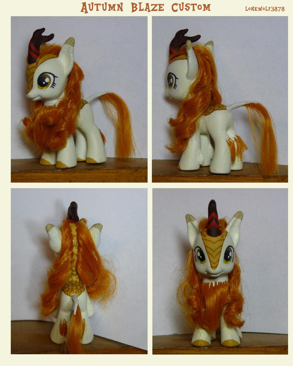 Autumn Blaze Brushable  Custom by lonewolf3878