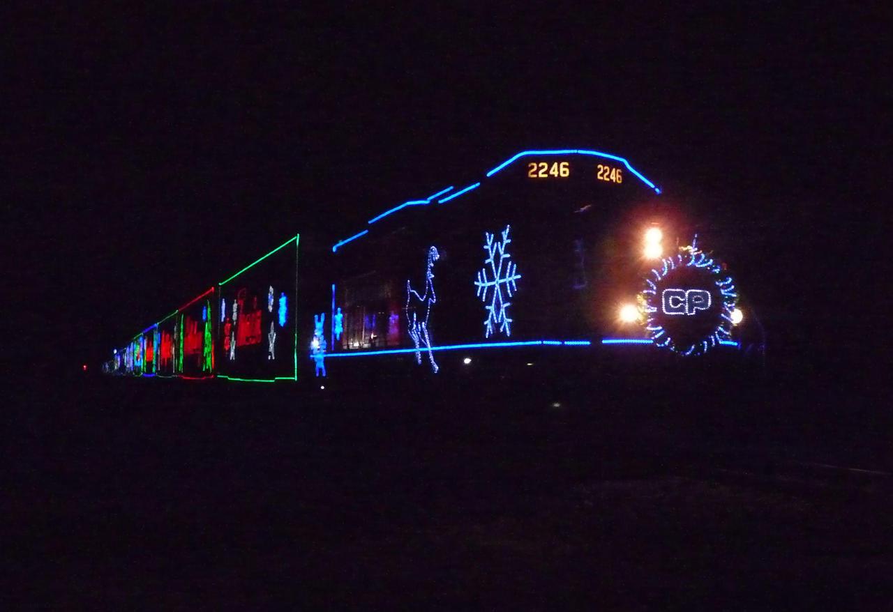 Railfan Trip: 12-3-18: The Arrival by lonewolf3878