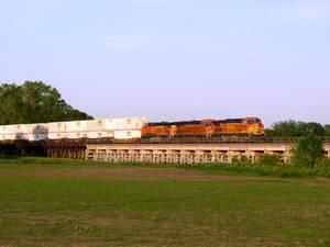 Railfan Trip: 6-11-19: Bridge Shot