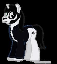 Papa Emeritus III Pony