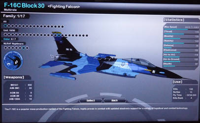 NLR Air Force F-16 Skin for Vector Thrust
