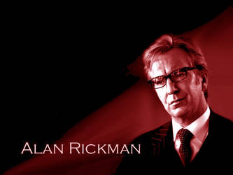 Alan Rickman by roguemika