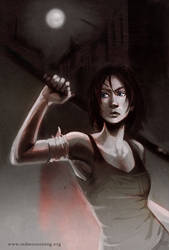 The Zombie Hunters - Jenny by aora