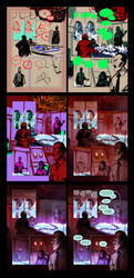 Red Moon Rising page process by aora