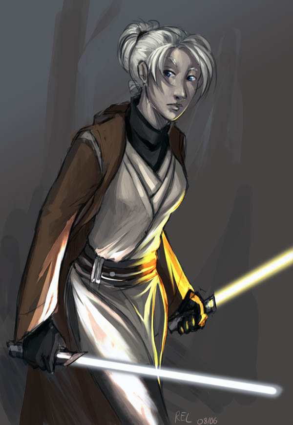 Star Wars:KotOR2 - Exile by aora