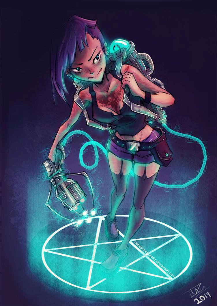 Monster killer by Conejito-Chutado