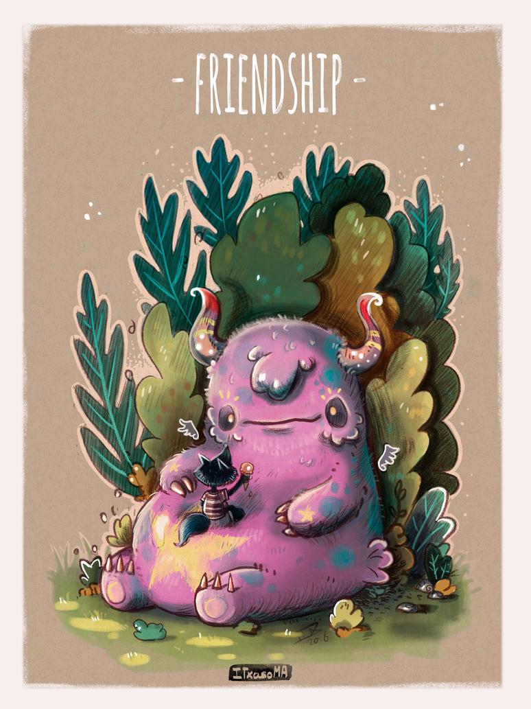 I Like Monsters by Conejito-Chutado