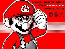 Mario Bros. 25th Anniversary by PATUX3T
