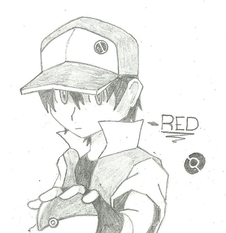 PKMN Trainer Red by PATUX3T on DeviantArt