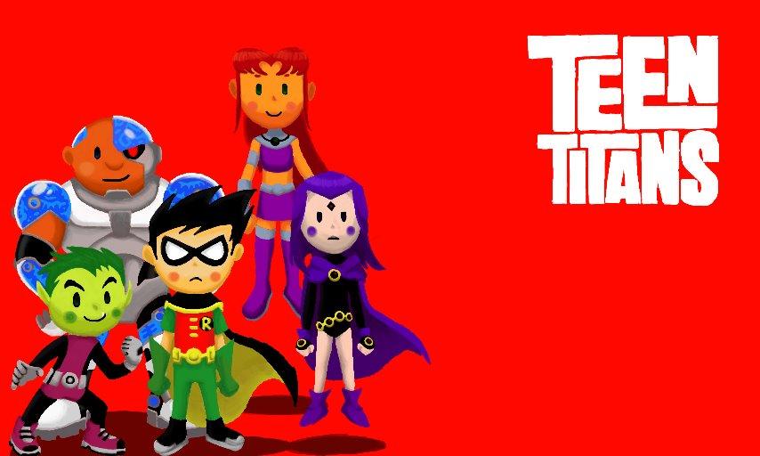 Teen Titans, go please. by PATUX3T