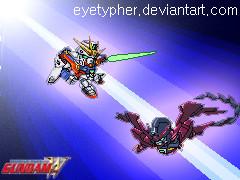 WingZero vs Epyon by eyetypher