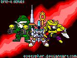 Trio DigiGundam - 3rd by eyetypher