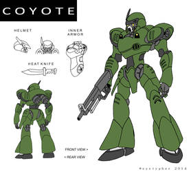ATM-01 Coyote by eyetypher
