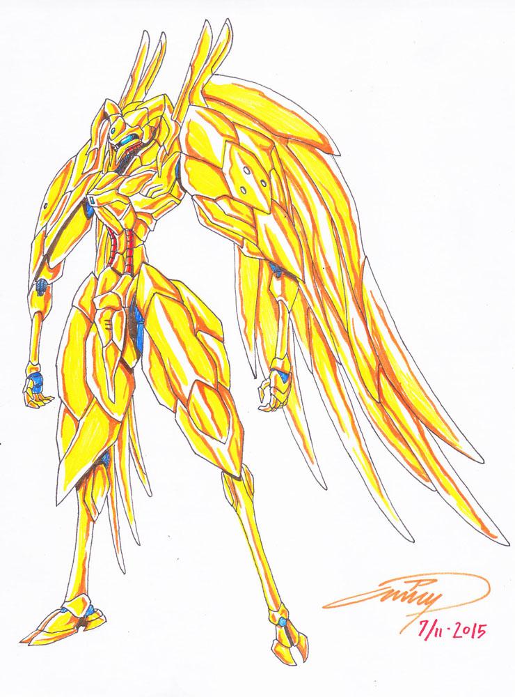 Mecha-Golden Fleece by eyetypher