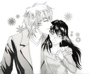 Sweet kiss by RedShootingStar
