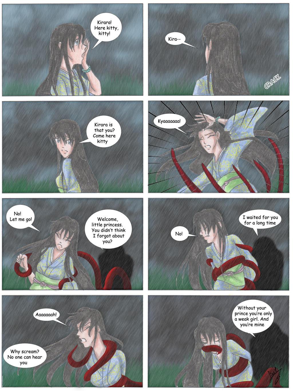 78. In the rain by RedShootingStar