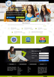 247 Essays Website Template
