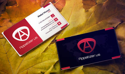 Appatizer Business Cards