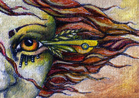 Fall Fae ACEO by glait
