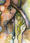 Watercolor Abstract ACEO
