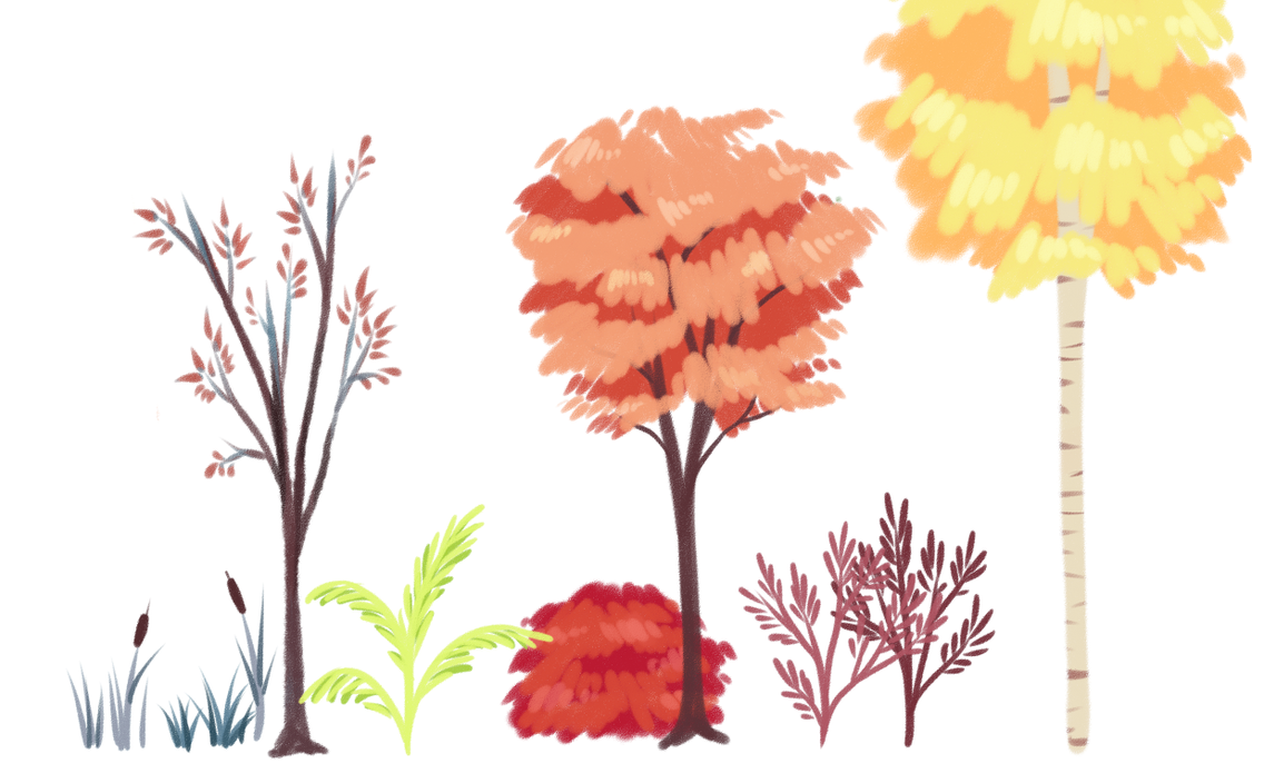 trees n things by mintycanoodles