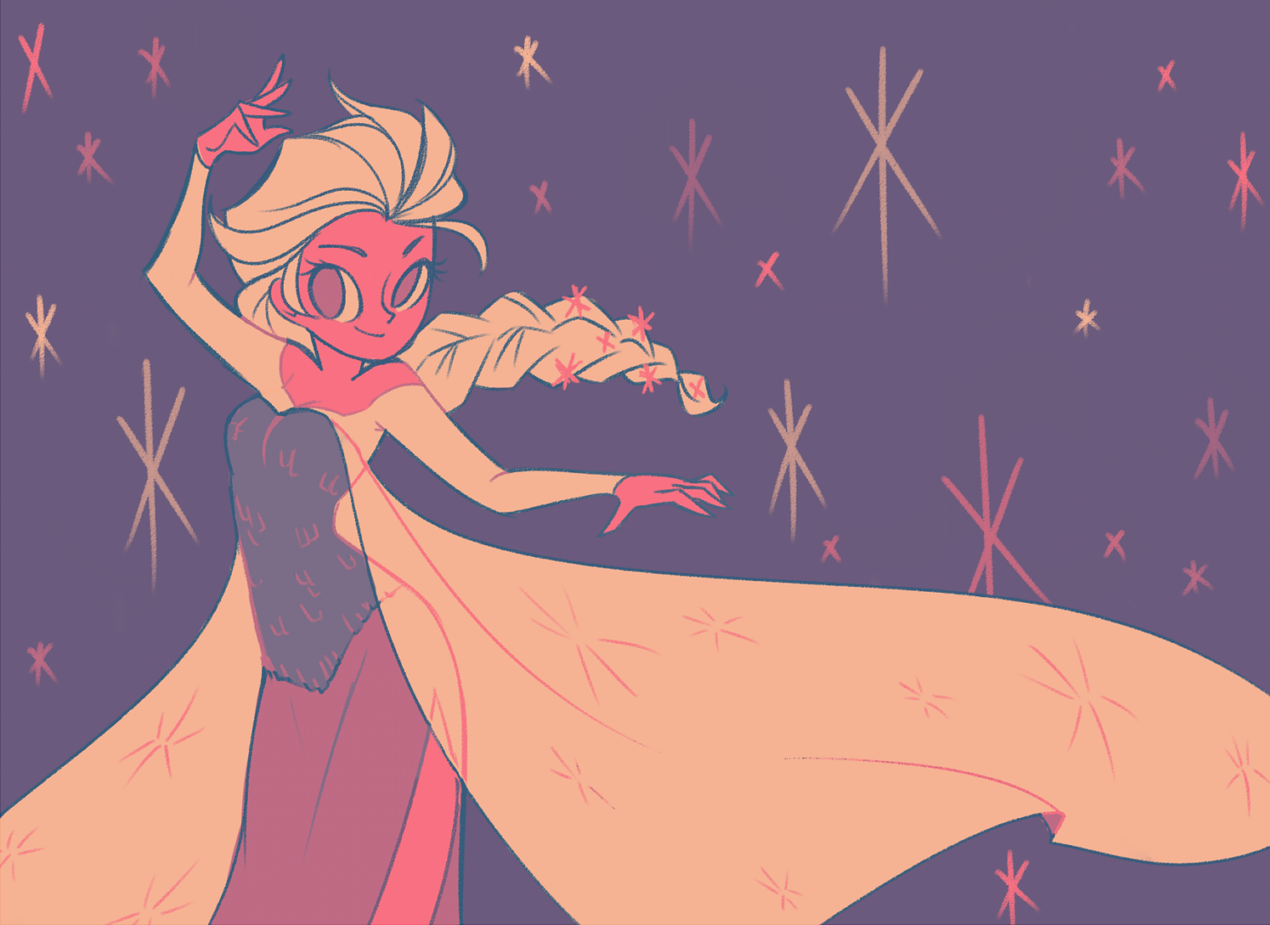Elsa by mintycanoodles