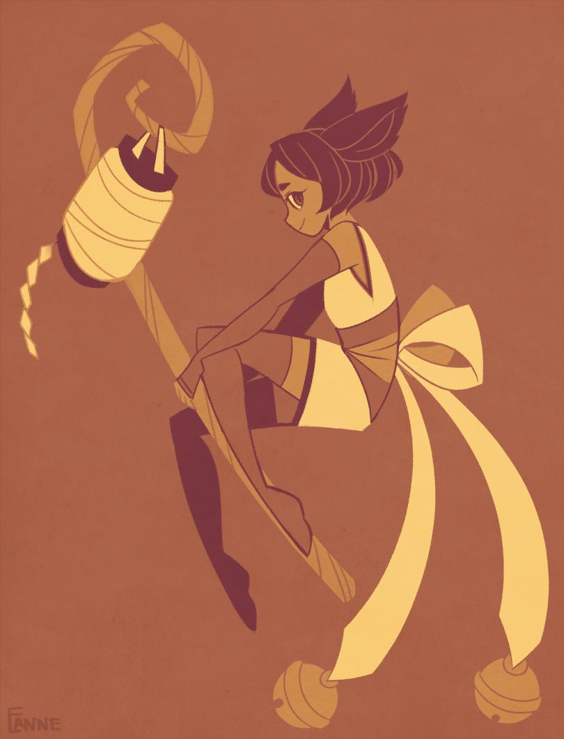 Foxgirl by mintycanoodles