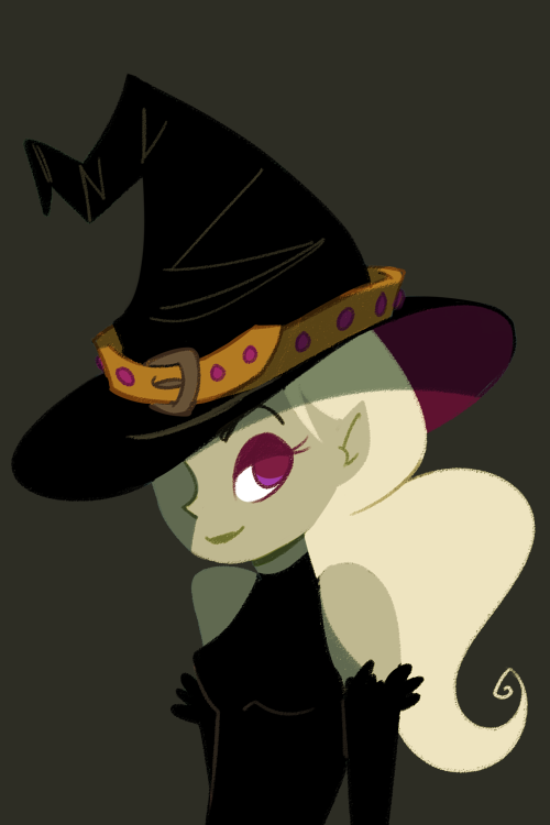 Green witch by mintycanoodles