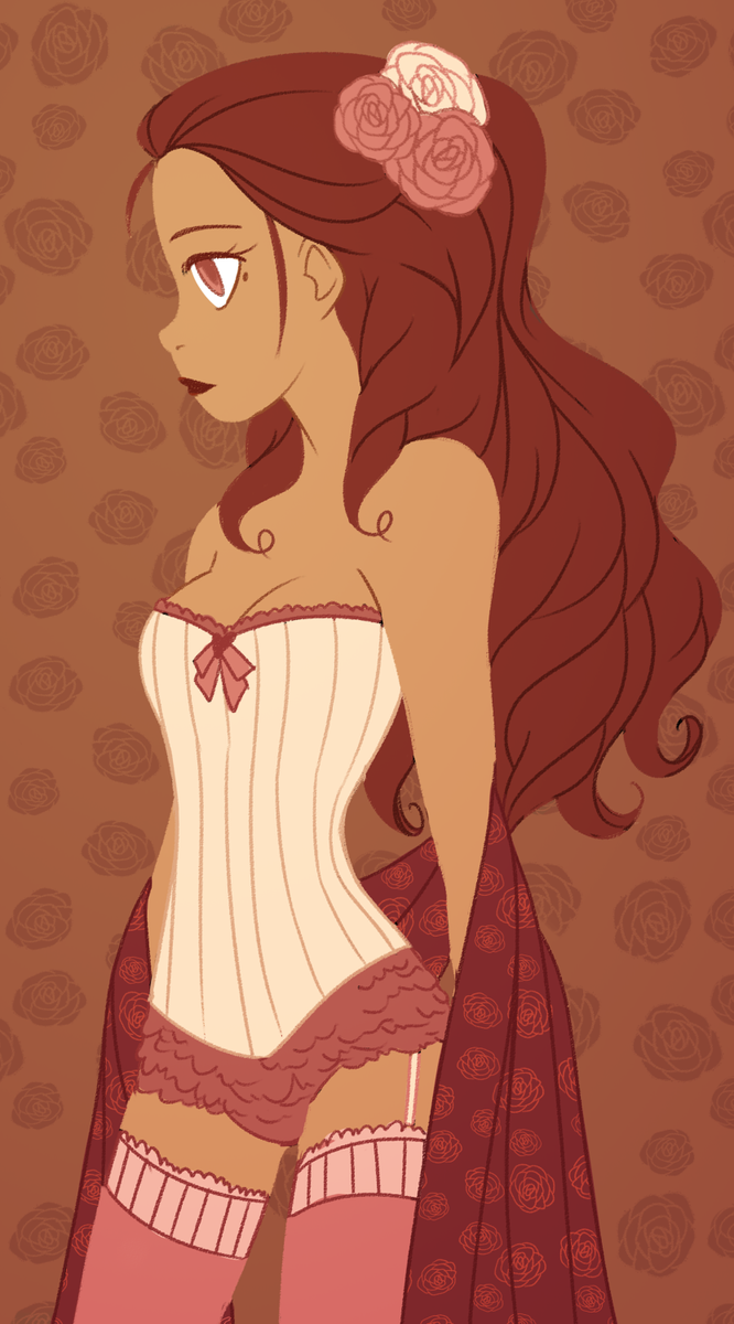 cinnamon rose by mintycanoodles