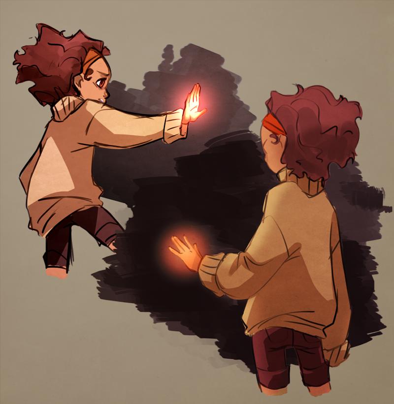Glowyhands by mintycanoodles
