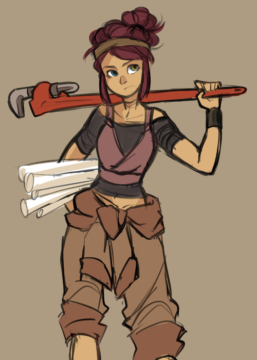 mechanic by mintycanoodles