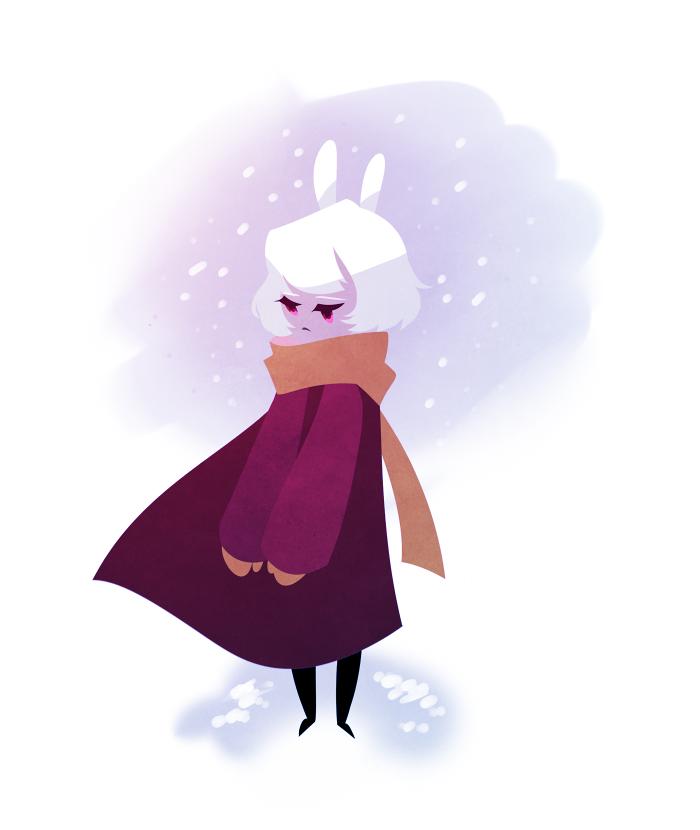 Rabbitgirl by mintycanoodles
