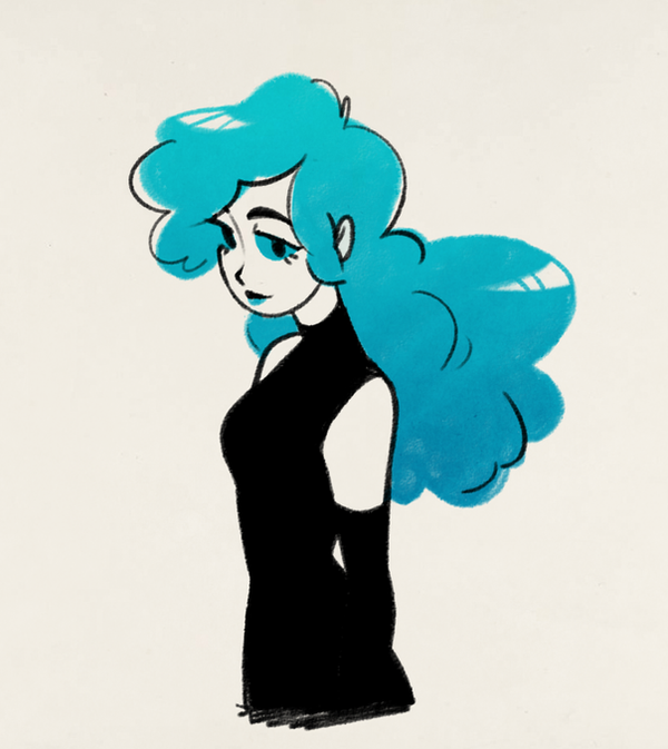 blue witch by mintycanoodles