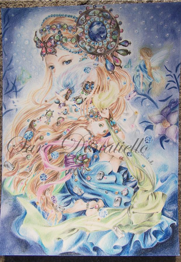 sogno in blu by saraPortrait
