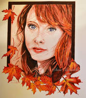 Autumn girl by saraPortrait