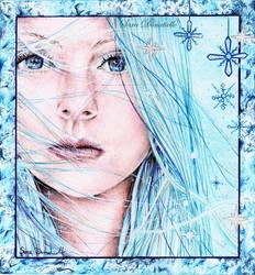 Winter girl by saraPortrait