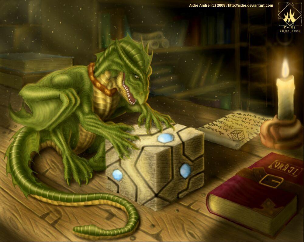 Magic dragon pet by ajder