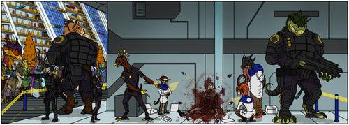Crime scene by ajder