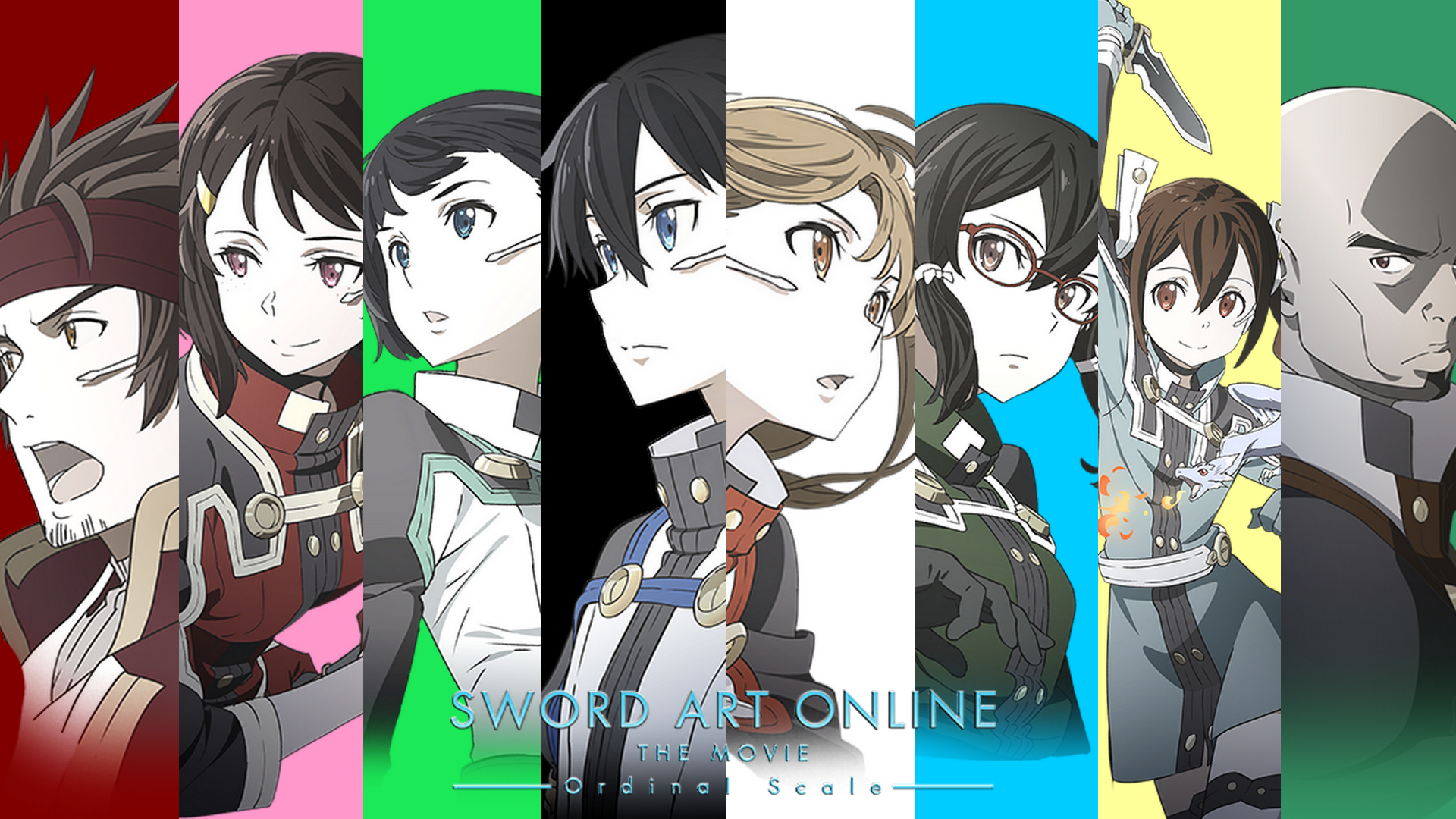 Sword Art Online Ordinal Scale Wallpaper By Plumenoare On Deviantart